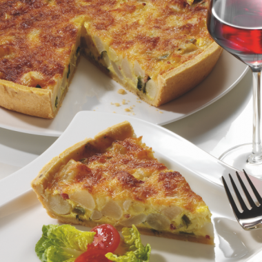 Bildmotiv für Autumn quiche with CAMBOZOLA