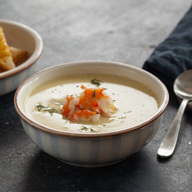 Bildmotiv für CAMBOZOLA Suppe mit Garnelen